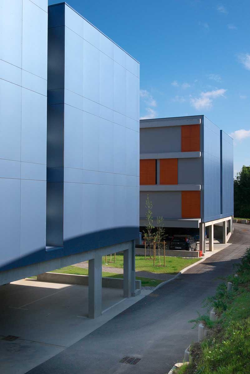 Immeuble futuriste france