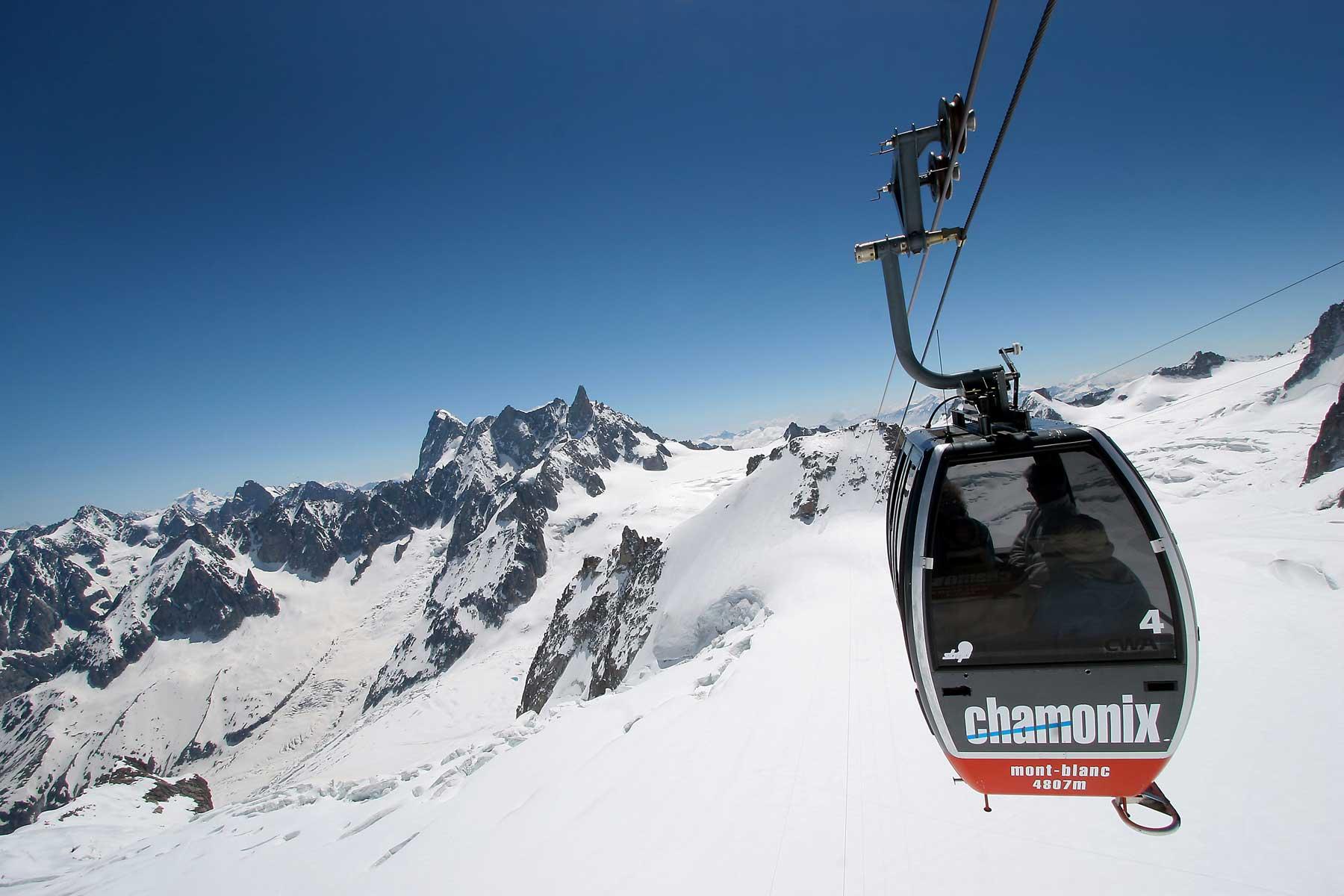 Télécabine Chamonix Mont-Blanc