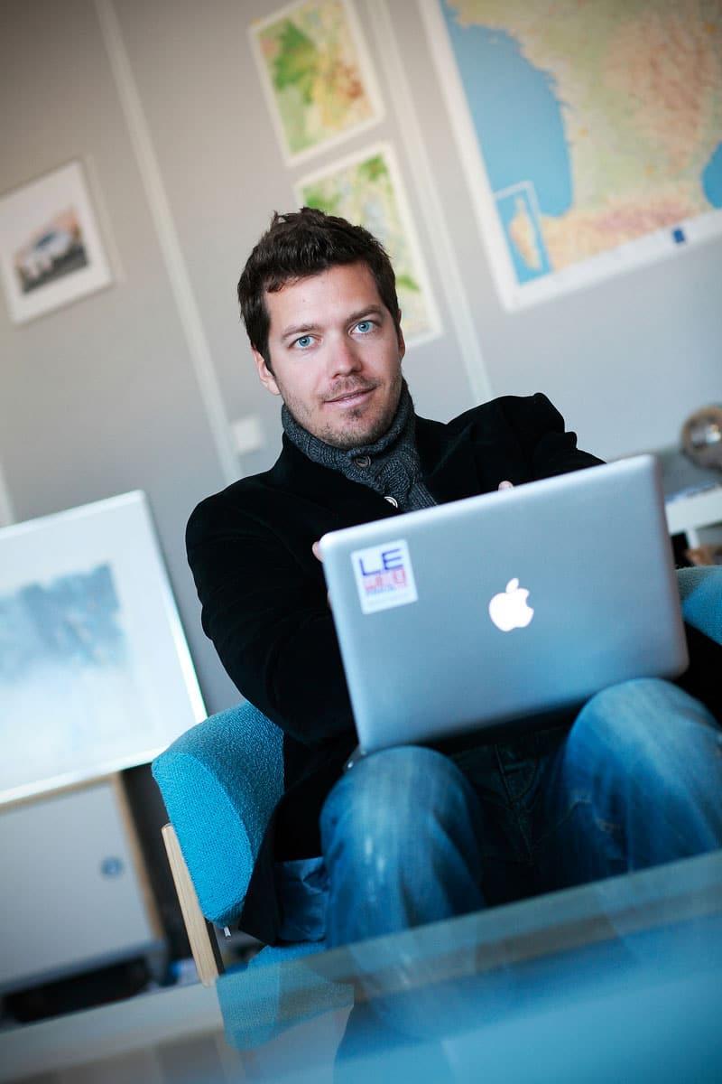 Portrait de presse par Gilles Piel Photographe